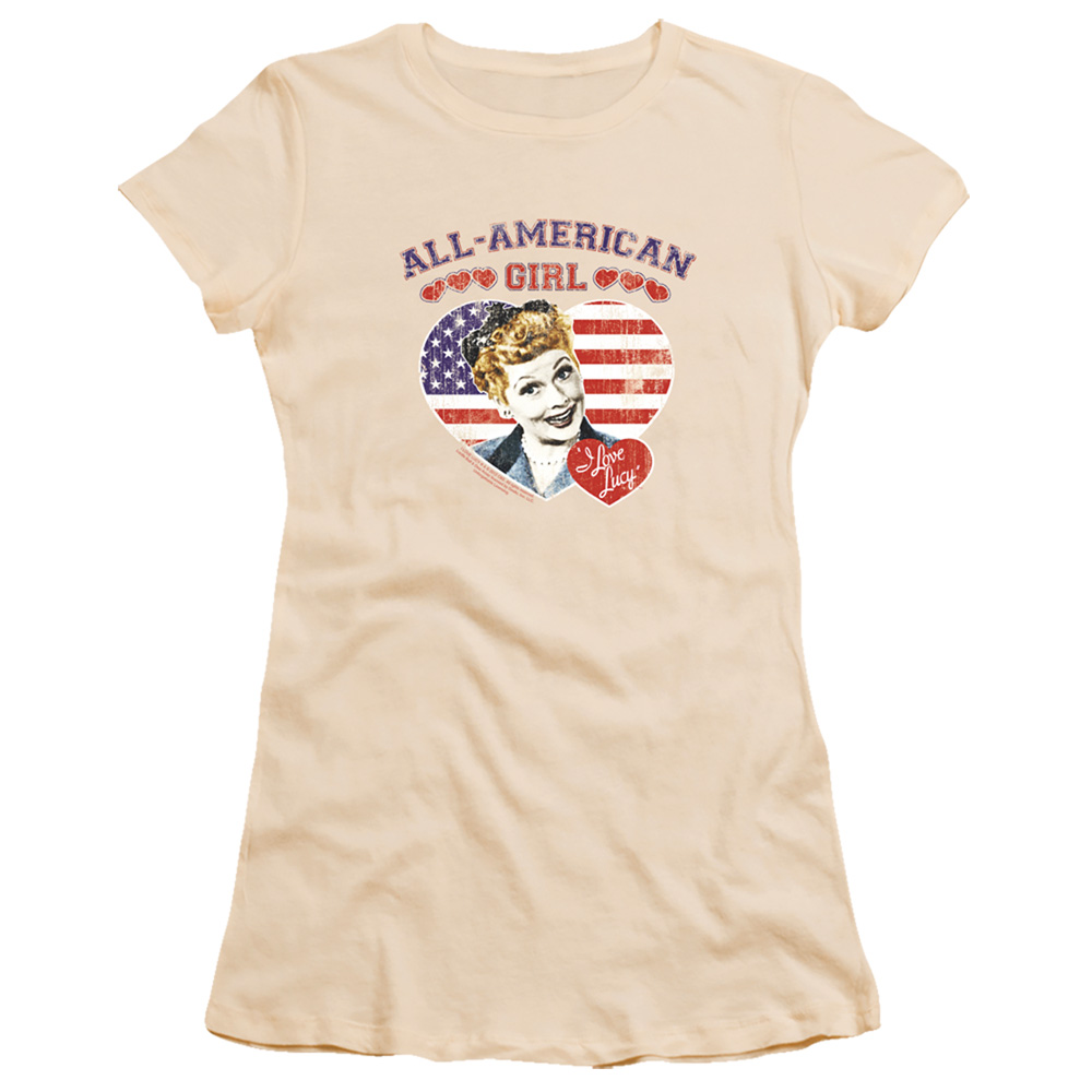 All American I Love Lucy Junior Fit T Shirt