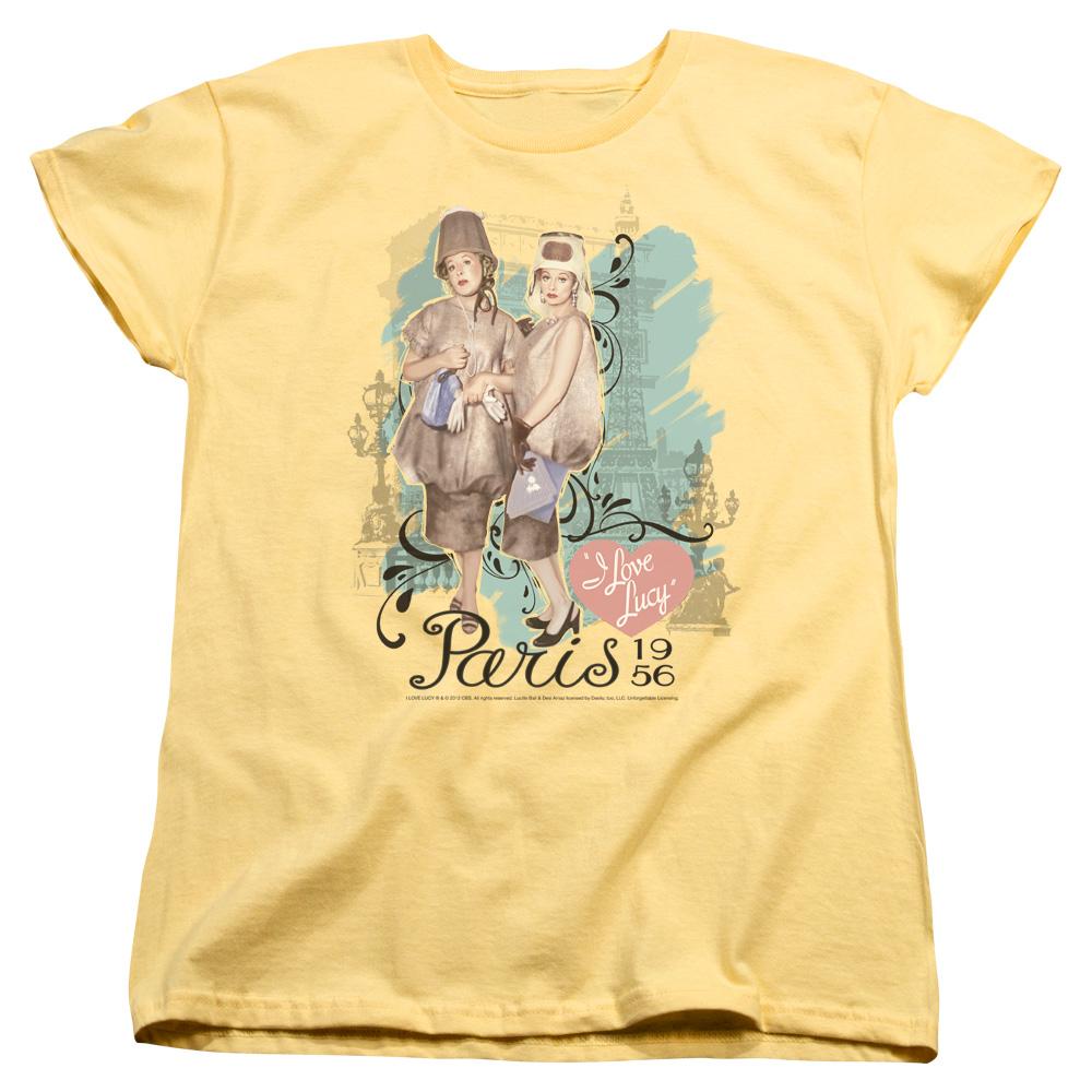 I Love Lucy Paris Dress Women's T-Shirt