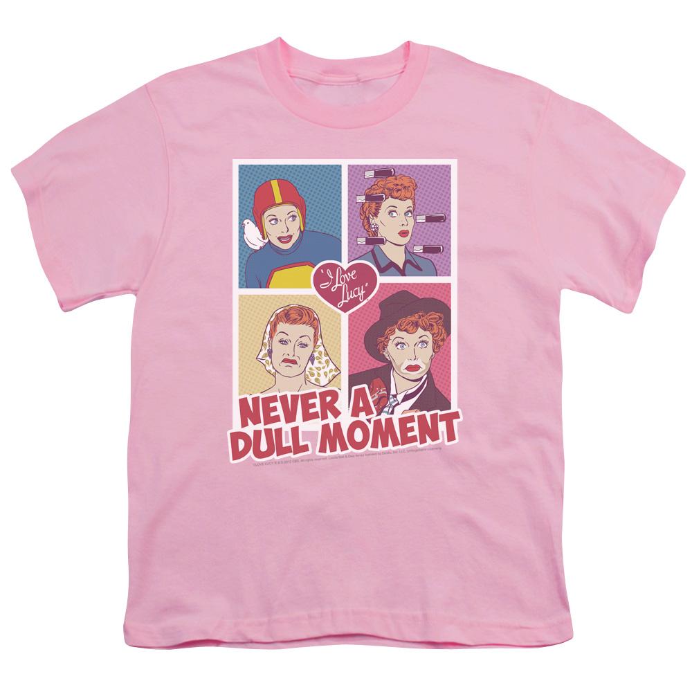 Retro I Love Lucy Panels Kids T-Shirt