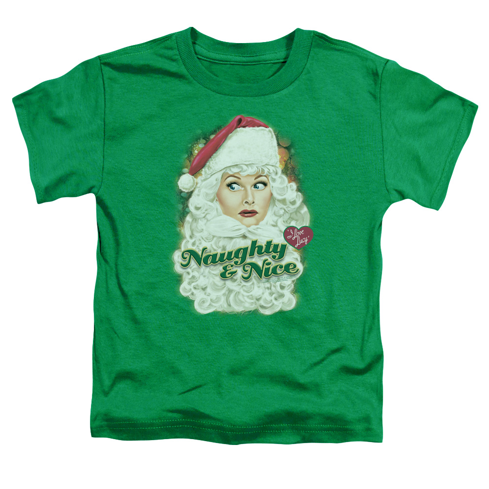 I Love Lucy Dressed As Santa Toddler T-Shirt