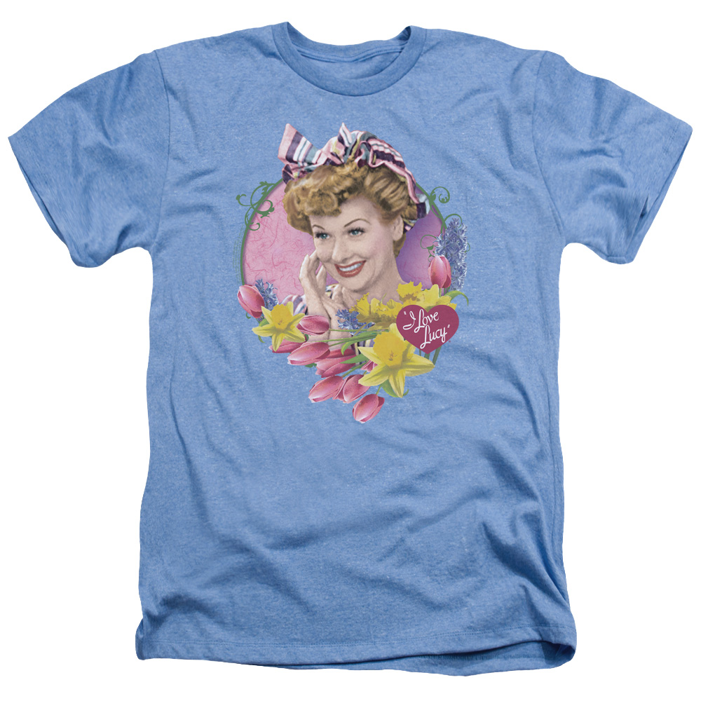 I Love Lucy Spring Time Heather T-Shirt