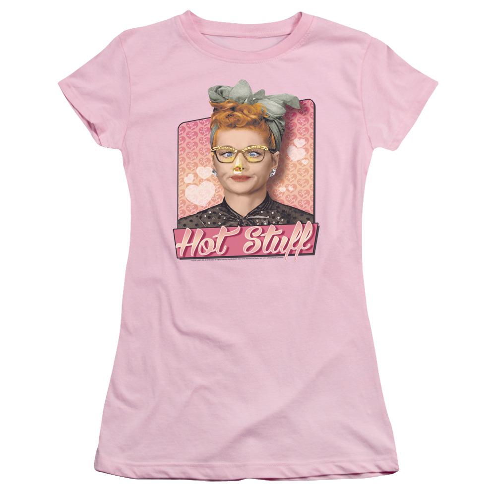 I Love Lucy Hot Stuff Junior Fit T Shirt