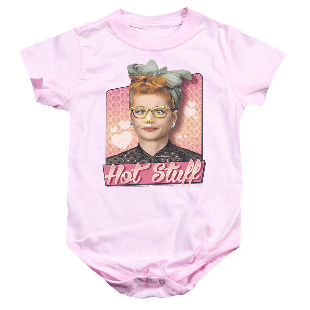 I Love Lucy Hot Stuff Baby Bodysuit