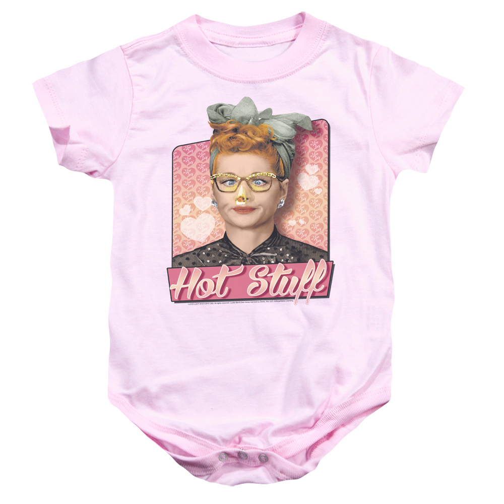 I Love Lucy Hot Stuff Baby Bodysuit