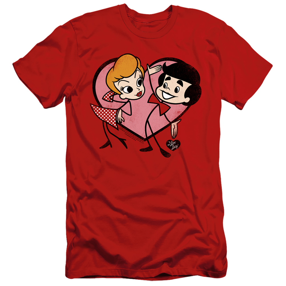 I Love Lucy Cartoon Love