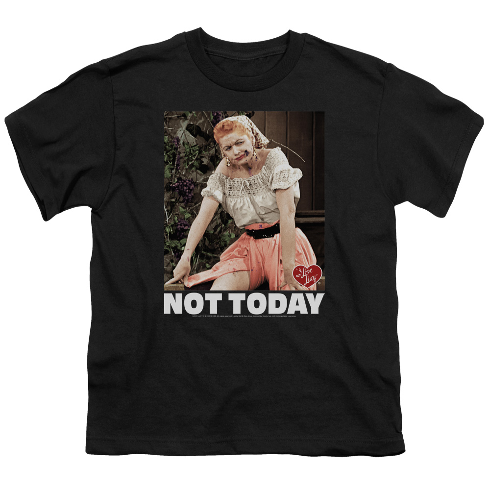 I Love Lucy Not Today Kids T-Shirt