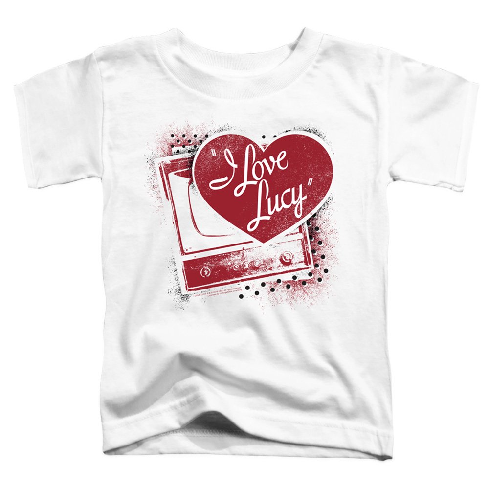I Love Lucy Spray Paint Heart Toddler T-Shirt