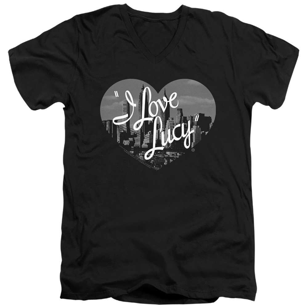 Nostalgic City I Love Lucy V-Neck T-Shirt