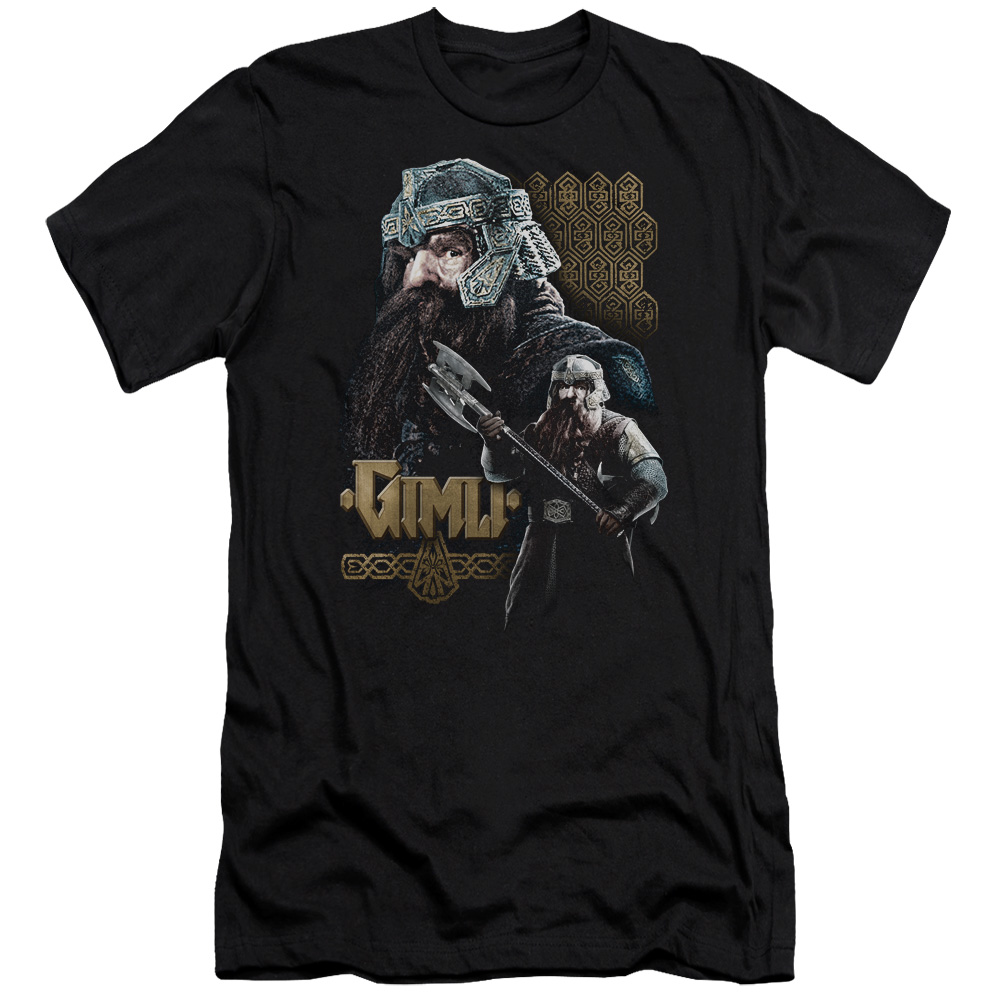Gimli Lord Of The Rings Slim Fit T-Shirt