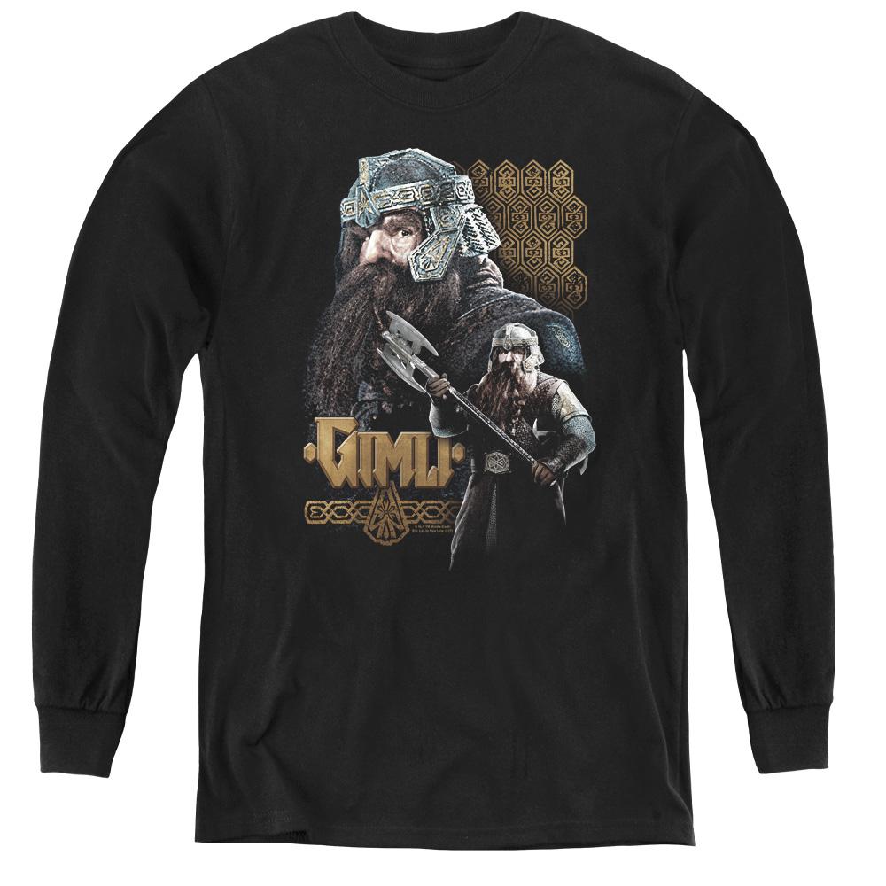 Gimli Lord Of The Rings Kids Long Sleeve Shirt