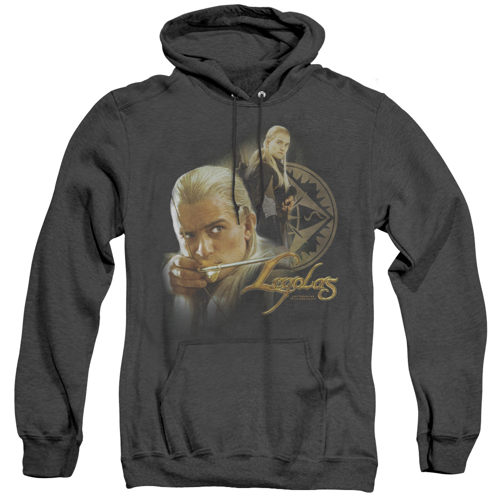 Legolas Lord Of The Rings Adult Heather Hoodie