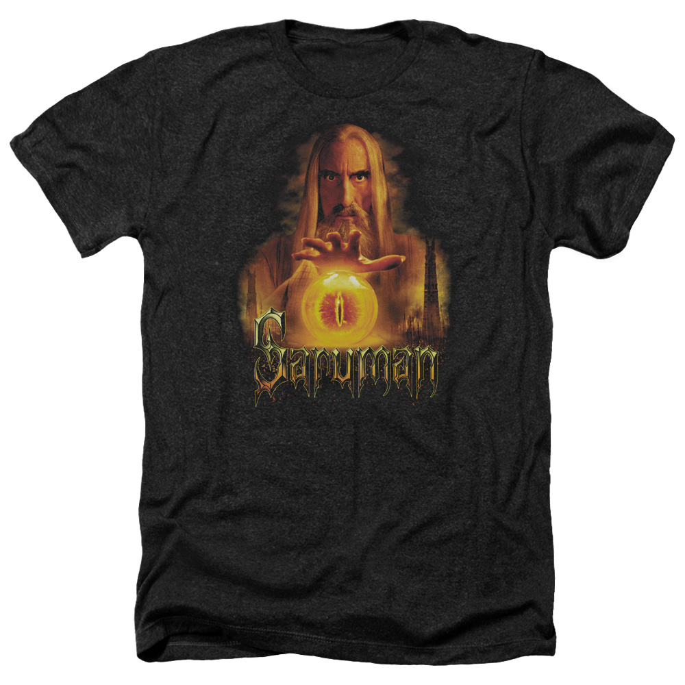 Sarumon Lord Of The Rings Heather T-Shirt