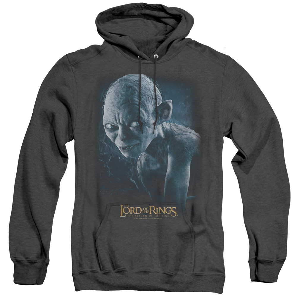 Sneaking Lord Of The Rings Adult Heather Hoodie