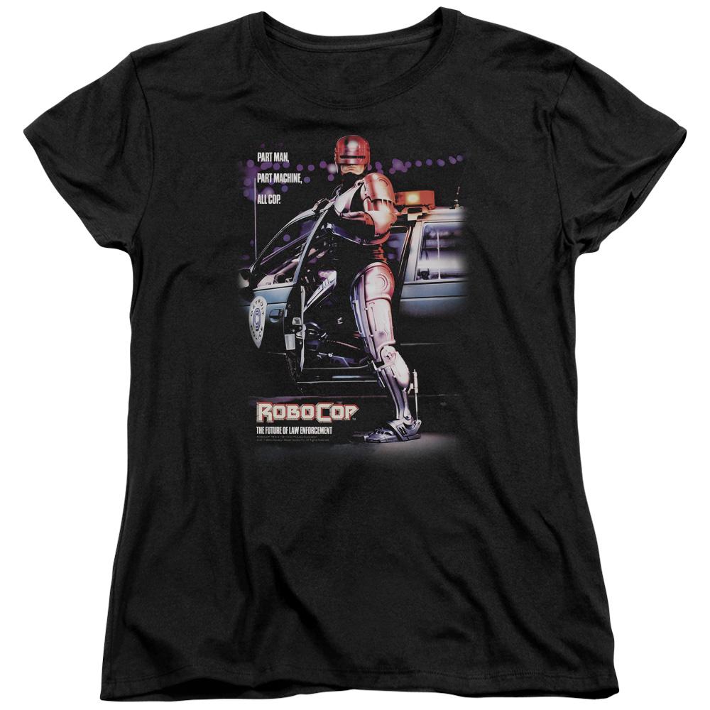 Part Man Robocop Women's T-Shirt