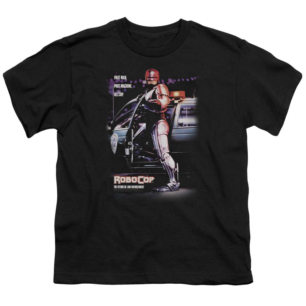 Part Man Robocop Kids T-Shirt