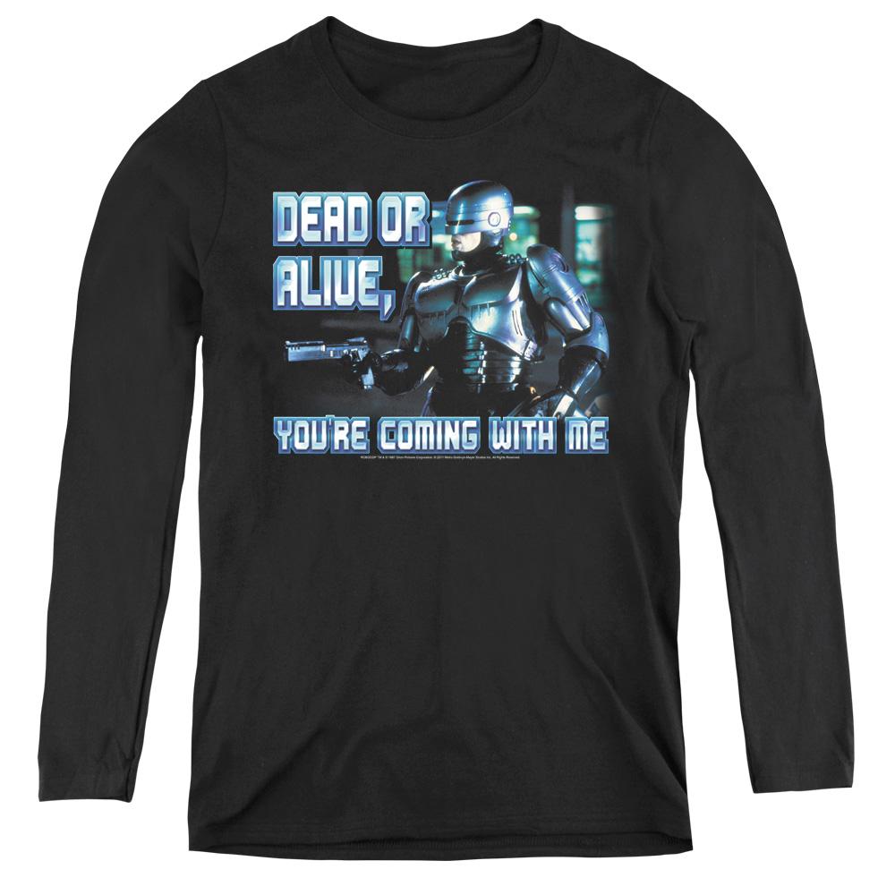 Dead Or Alive Robocop Women's Long Sleeve Shirt
