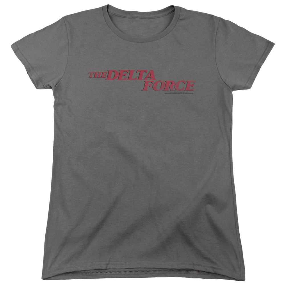 Delta Force Distressed Logo Women's T-Shirt