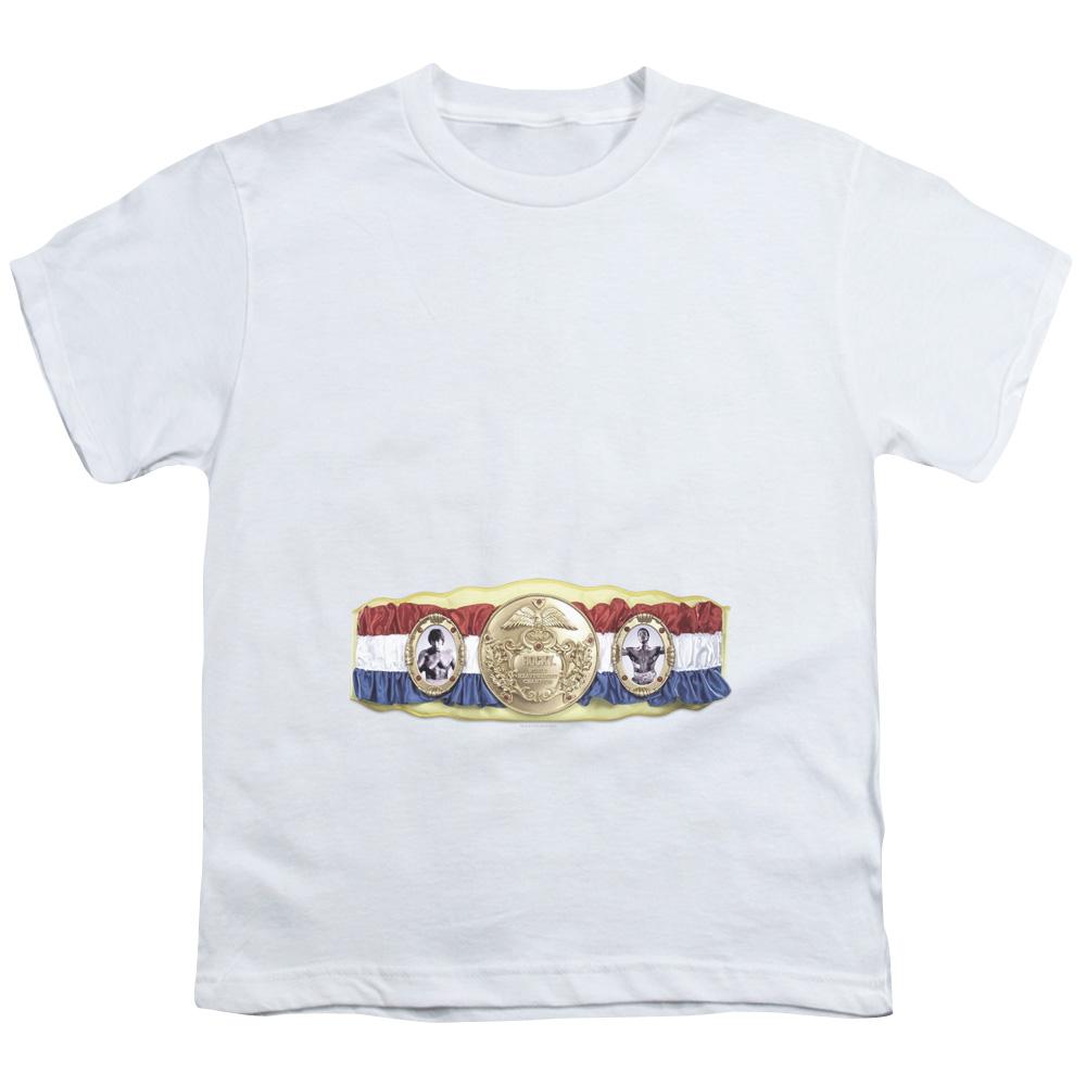 Championship Belt Rocky Kids T-Shirt