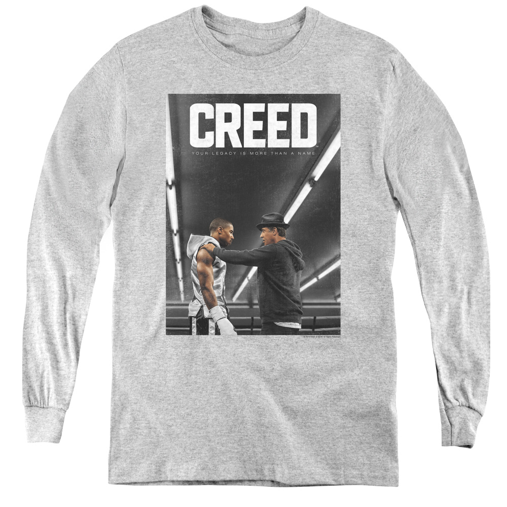 Creed Classic Movie Poster Kids Long Sleeve Shirt