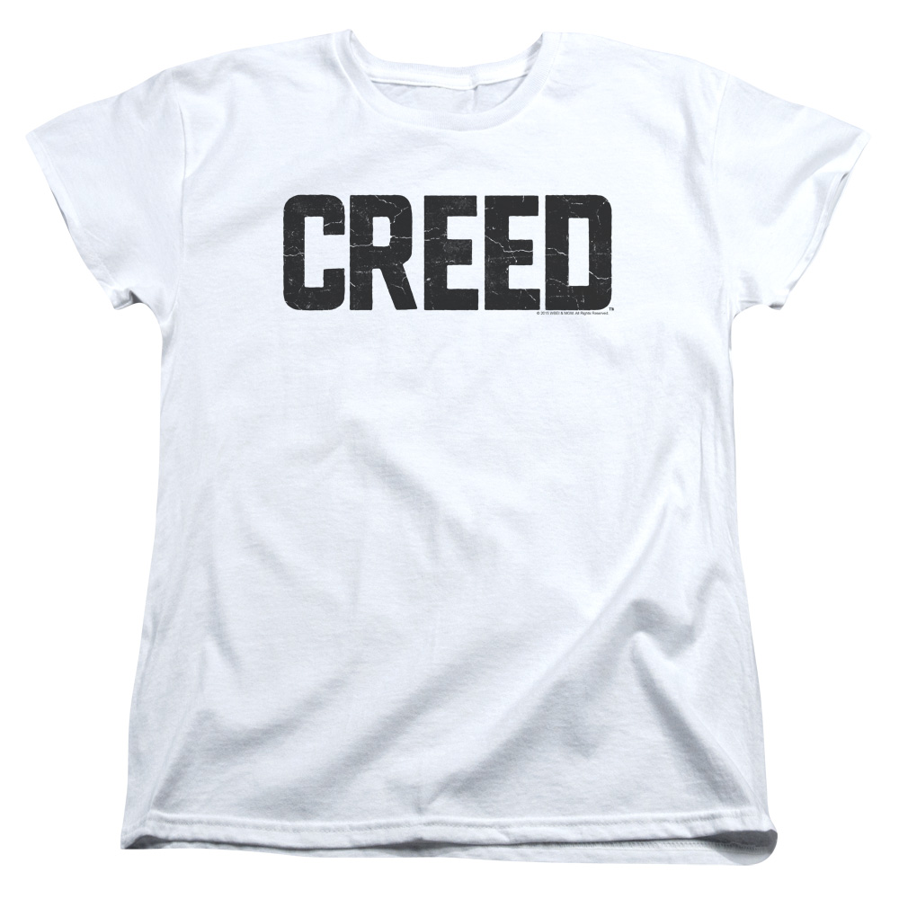 Creed Cracked Classic Logo Women's T-Shirt