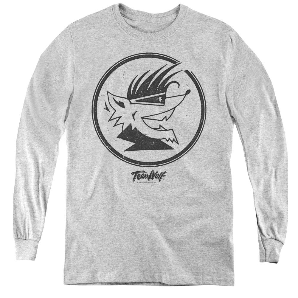 Wolf Head Teen Wolf Kids Long Sleeve Shirt
