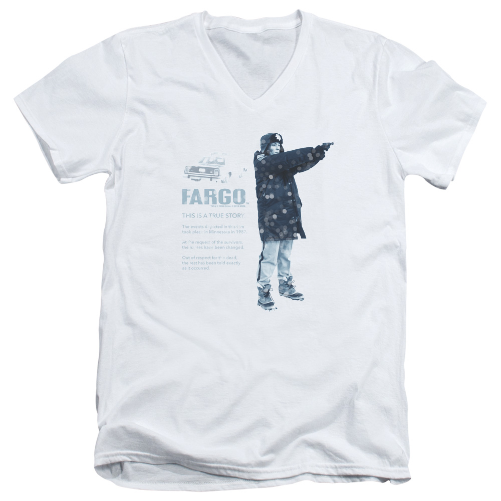 This Is A True Story Fargo V-Neck T-Shirt