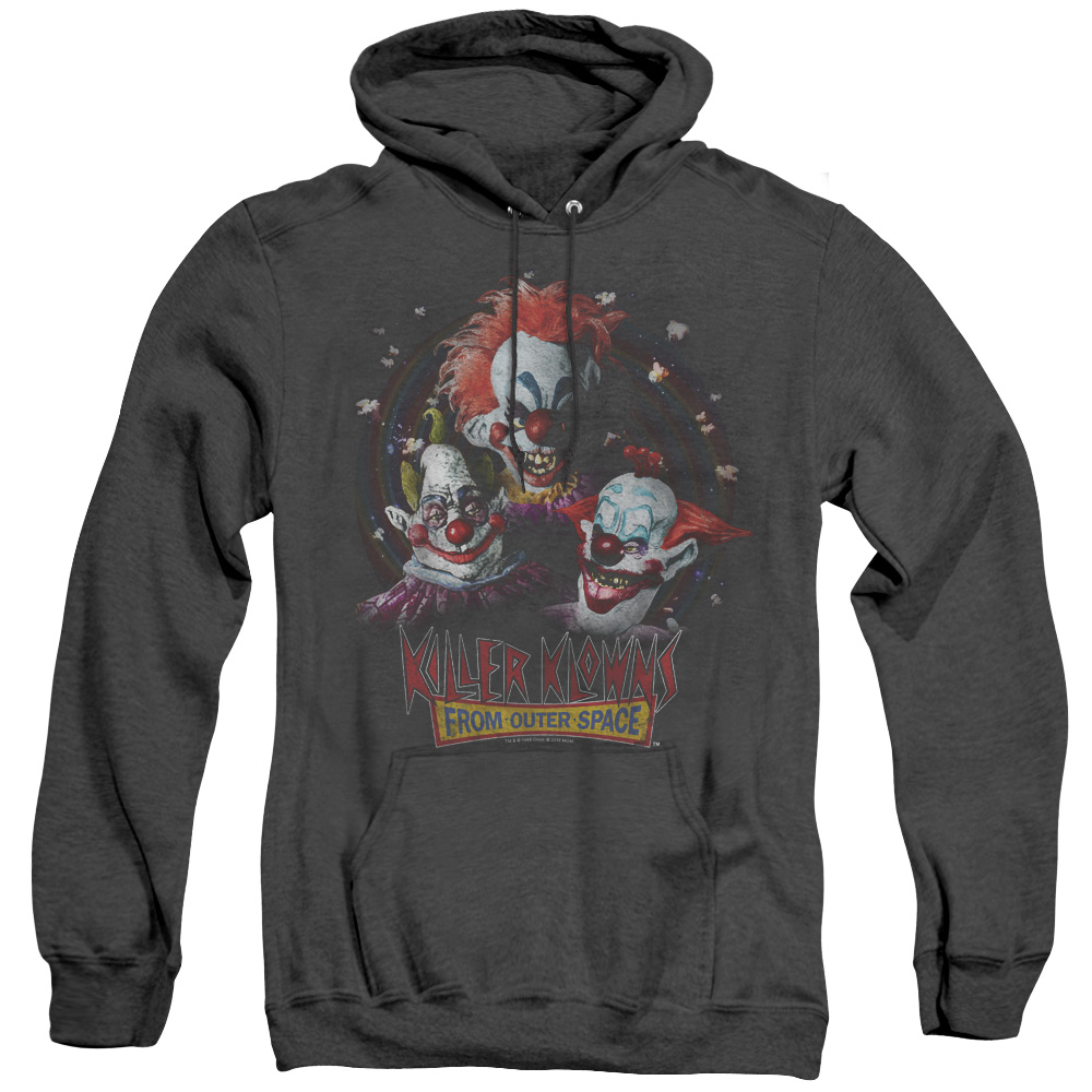 Killer Klowns Killer Klowns From Outer Space Adult Heather Hoodie