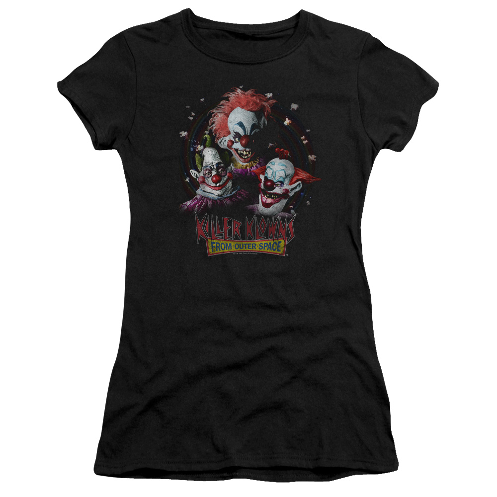 She Beauty She Grace She Came From Outer Space Alien Black T-Shirt S-6XL