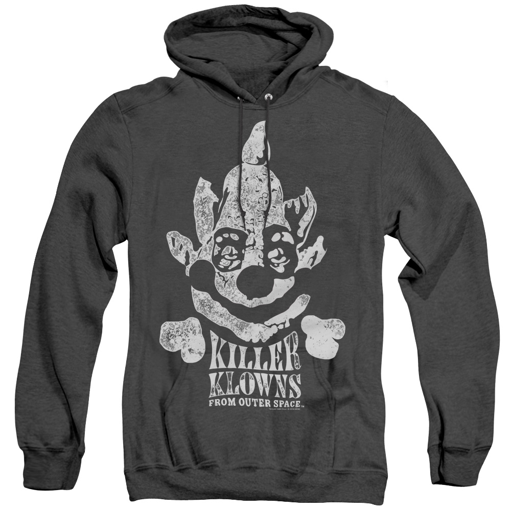 Kreepy Killer Klowns From Outer Space Adult Heather Hoodie
