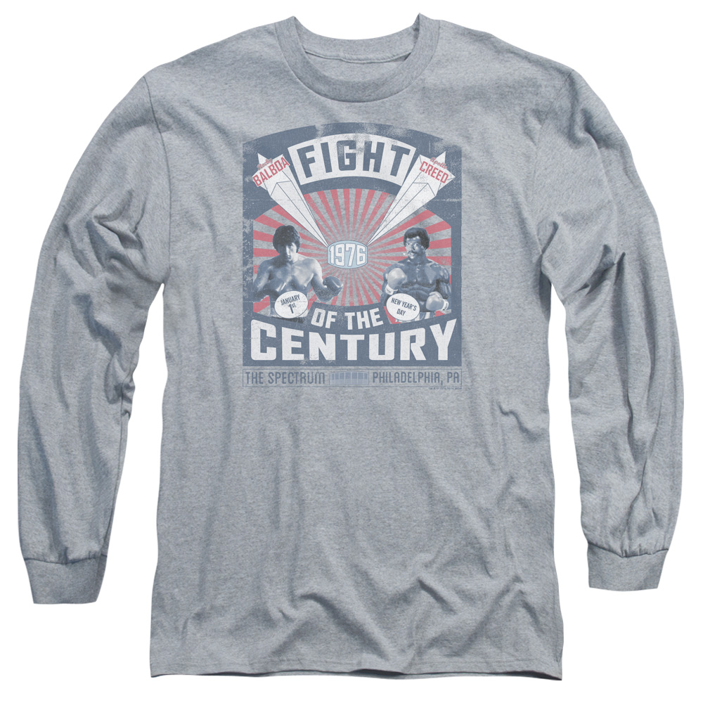 Rocky Balboa Creed Fight Poster Long Sleeve Shirt