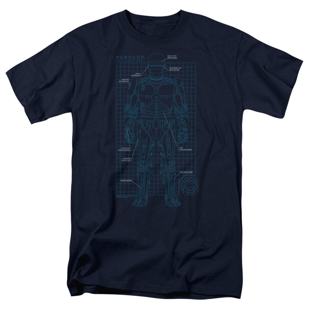 Robocop SCHEMATIC T-Shirt
