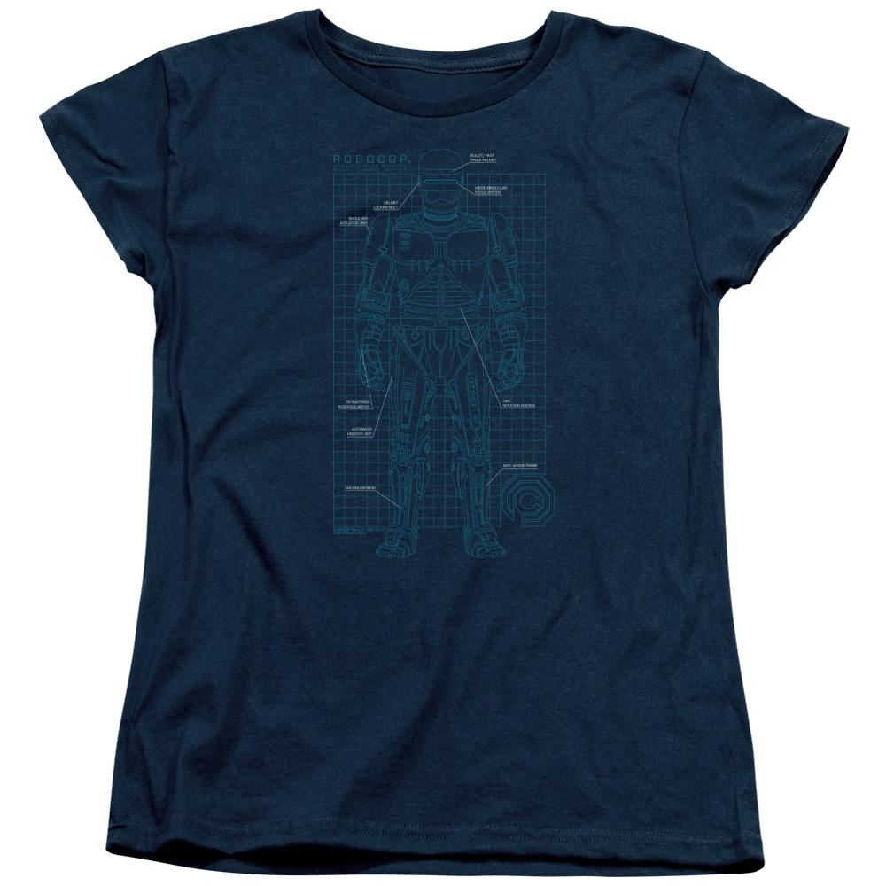 Robocop SCHEMATIC Women's T-Shirt