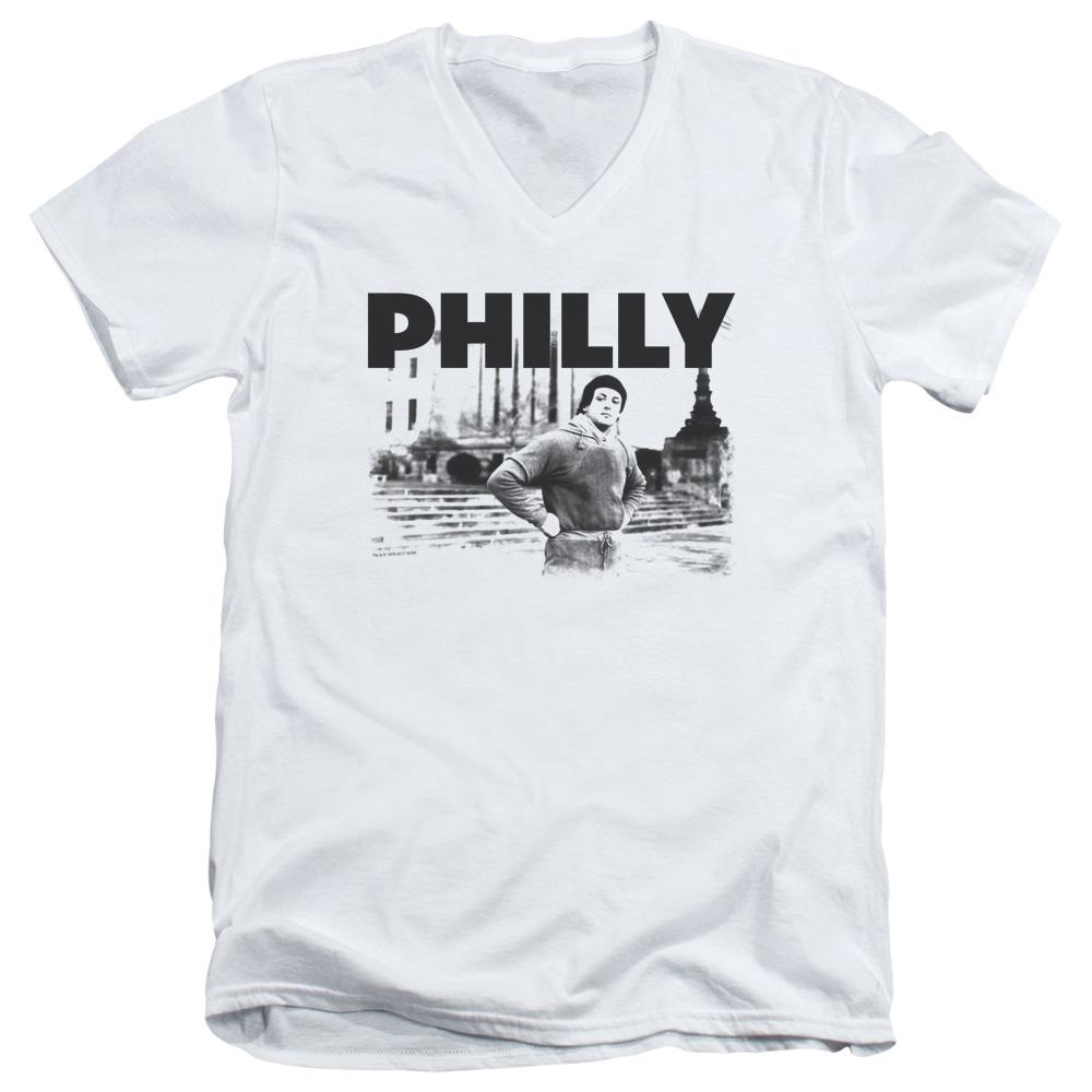 Rocky Philly V-Neck T-Shirt