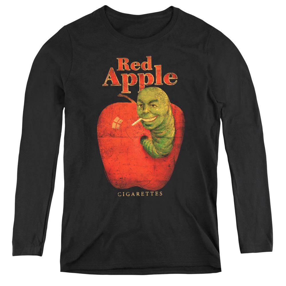 Red Apple Pulp Fiction Women's Long Sleeve Shirt