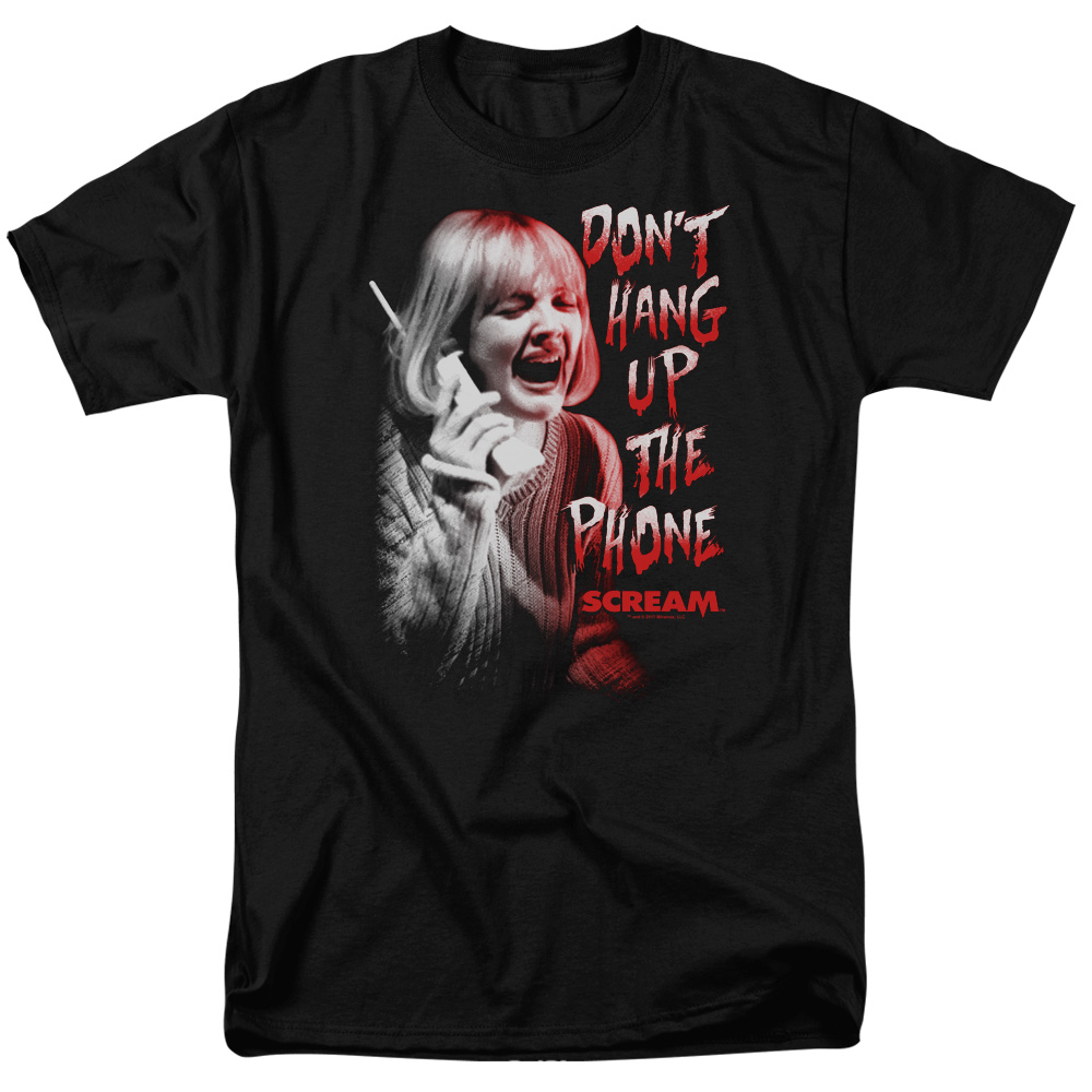 Scream Movie Dont Hang Up T-Shirt
