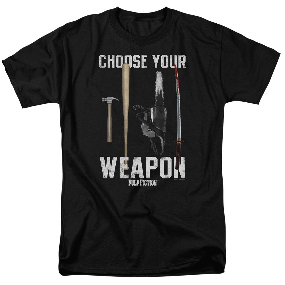 Choose Your Weapon Pulp Fiction T-Shirt