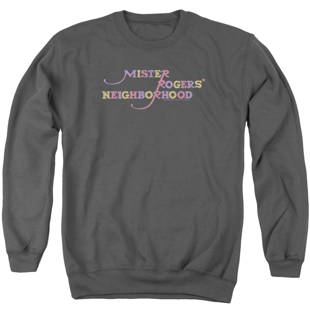 Mister Rogers Colorful Logo Sweatshirt