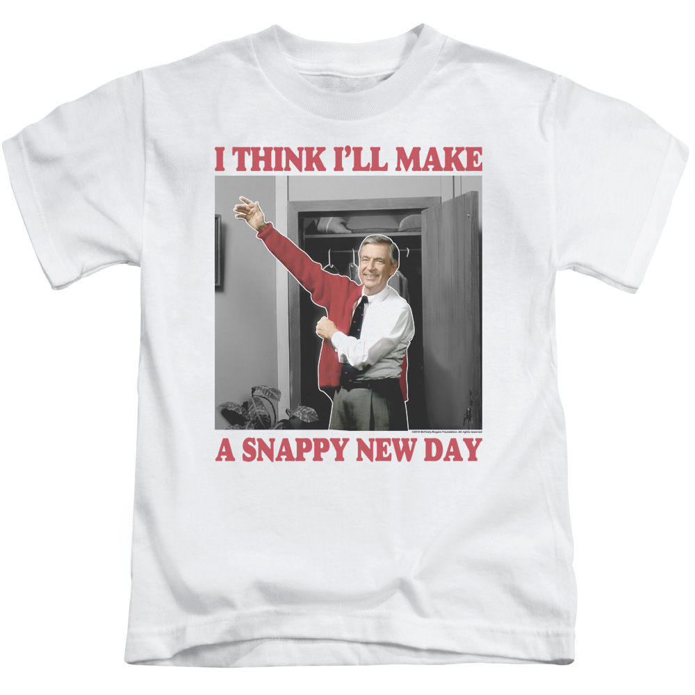 A Snappy New Day Mister Rogers' Neighborhood Juvy T-Shirt