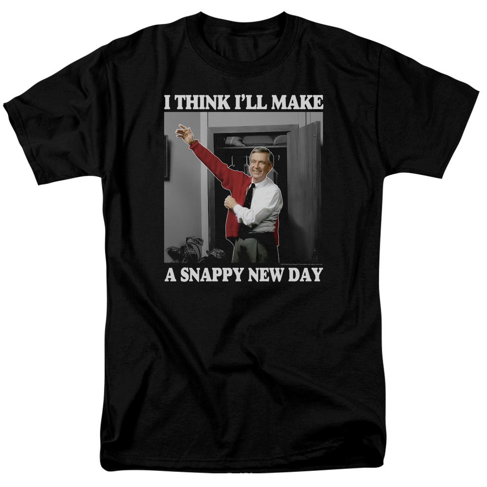Mister Rogers A Snappy New Day T-Shirt