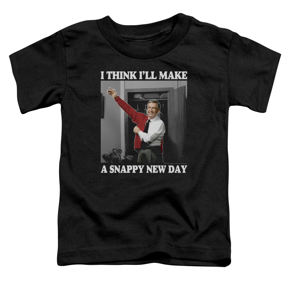 Mister Rogers A Snappy New Day Toddler T-Shirt