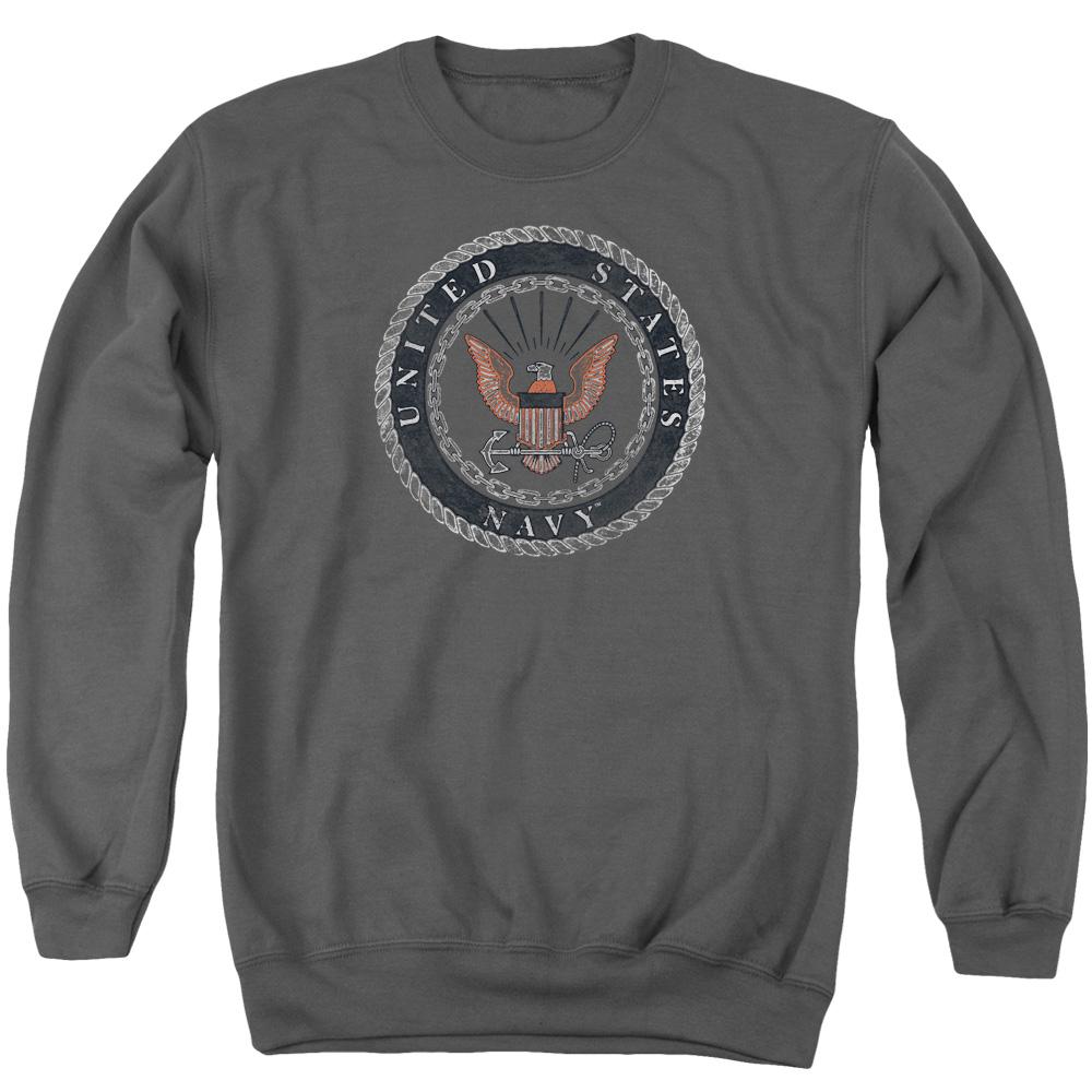 United State U.S. Navy Rough Eagle Emblem Sweater