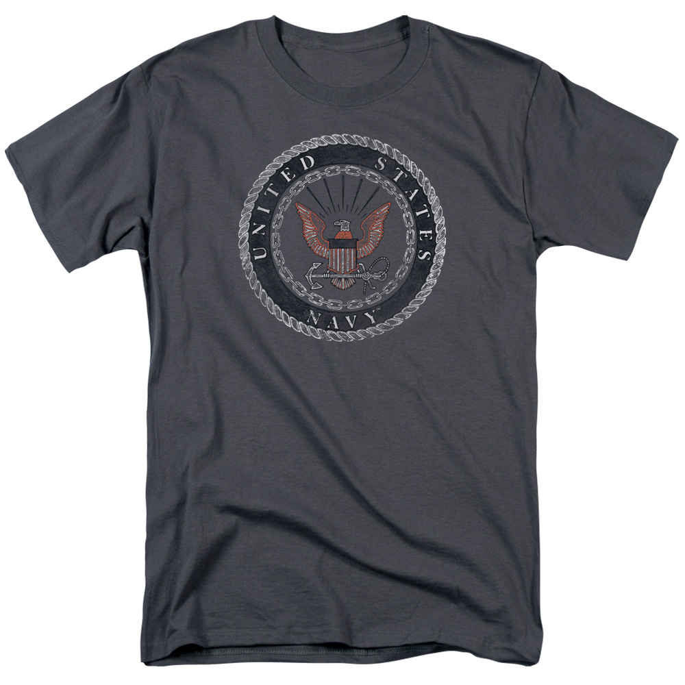 United State U.S. Navy Rough Eagle Emblem T-Shirt