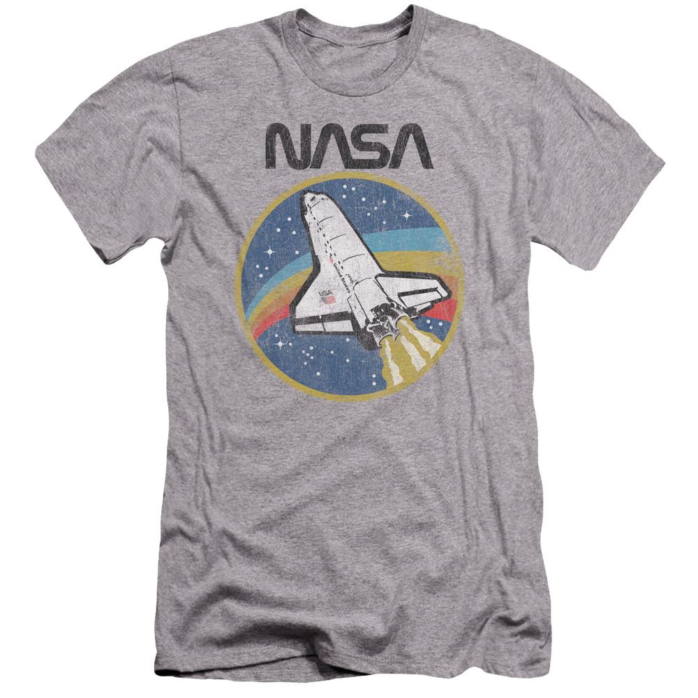 NASA Shuttle Premium Slim Fit T-Shirt