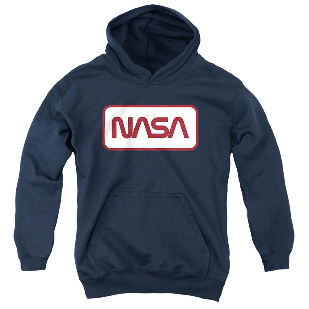 Rectangular NASA Logo Kids Hoodie