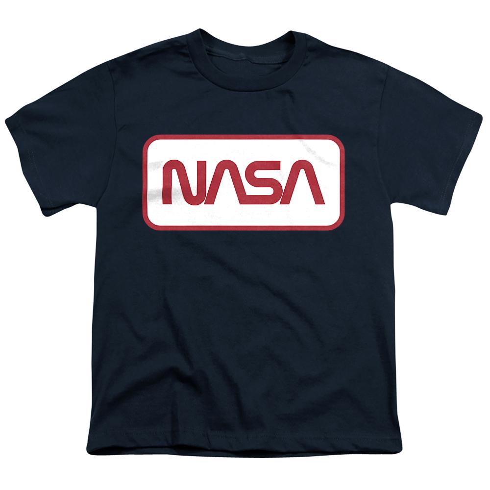 Rectangular NASA Logo Kids T-Shirt