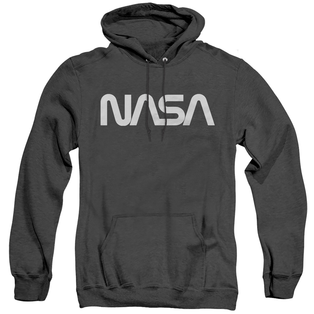 NASA Worm Adult Heather Hoodie