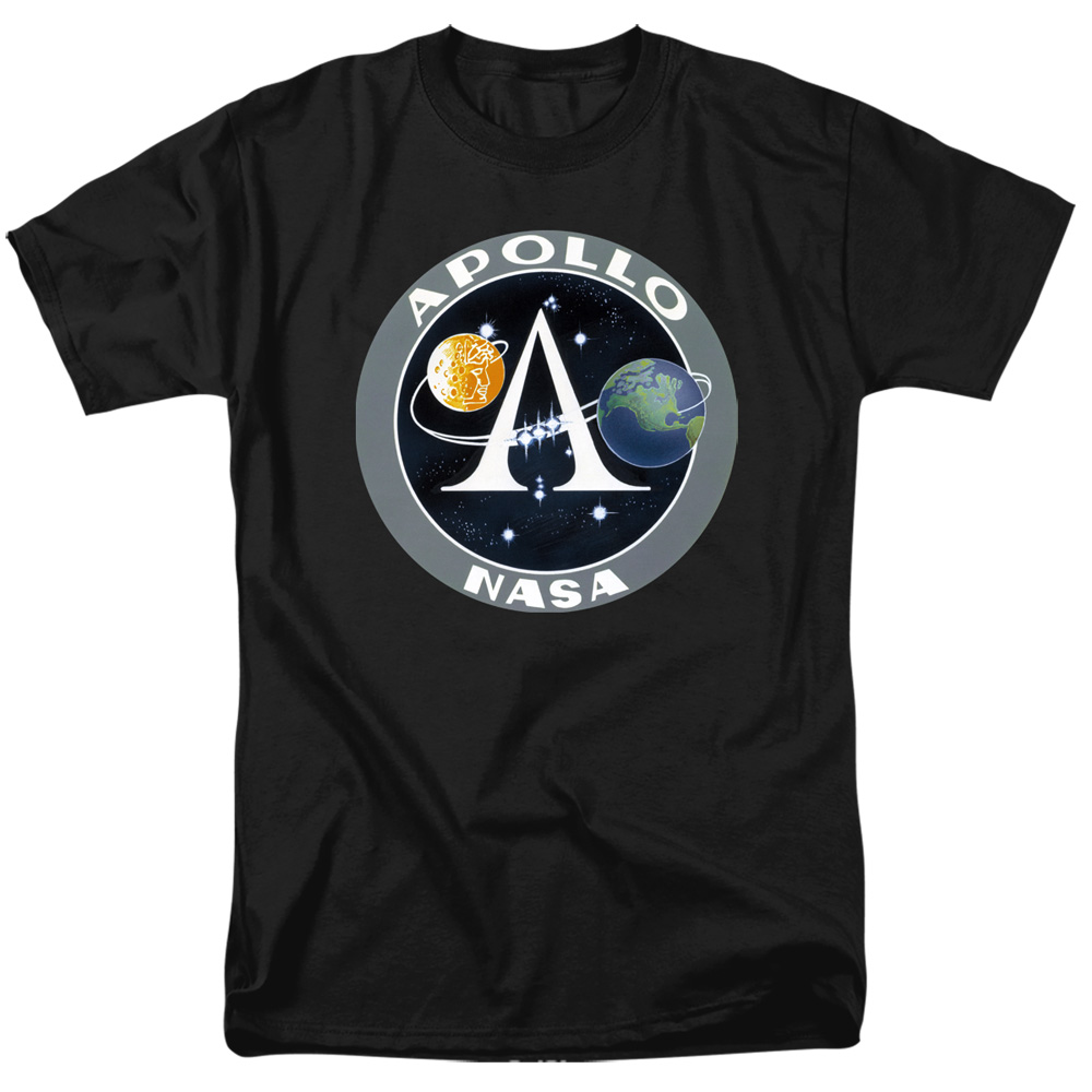 NASA Apollo Mission Patch T-Shirt