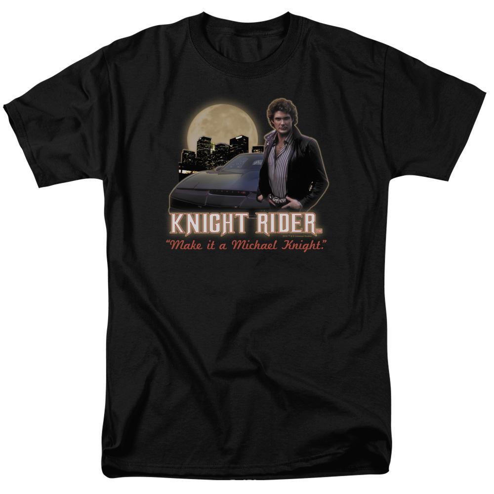 Knight Rider Full Moon T-Shirt
