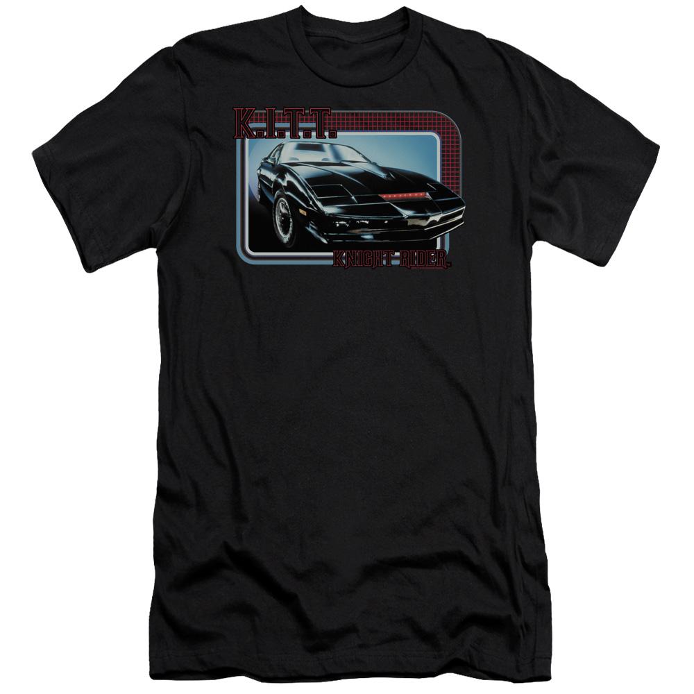 Knight Rider Kitt Premium Slim Fit T-Shirt