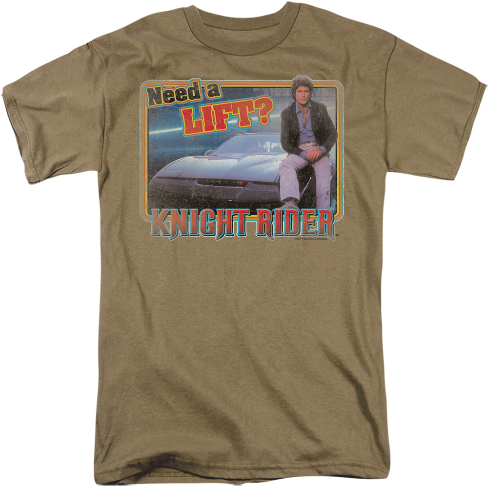 Knight Rider Need A Lift T-Shirt